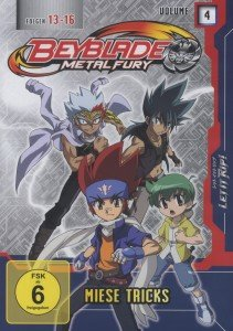 Beyblade: (4)Metal Fury-Miese Tricks
