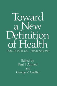 Toward a New Definition of Health