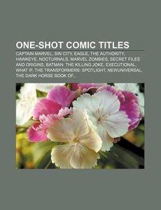 One-shot comic titles