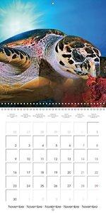 Ocean - Art II (Wall Calendar 2015 300 × 300 mm Square)
