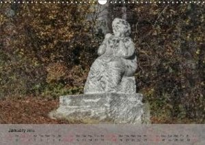 Stoned Guardians of the Forest (Wall Calendar 2015 DIN A3 Landsc