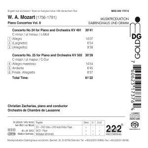 Klavierkonzerte Vol.8-Nr.24/KV 491+25/KV 503