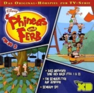 Phineas & Ferb TV Serie Folge 2