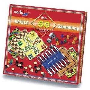 Noris 606112578 - Spielesammlung mit 50 Möglichk.