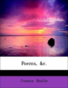 Poems, &c.