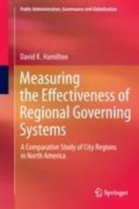 Measuring the Effectiveness of Regional Governing Systems
