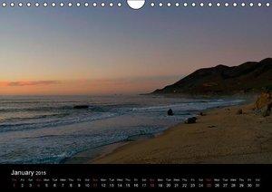 California Coasline (Wall Calendar 2015 DIN A4 Landscape)