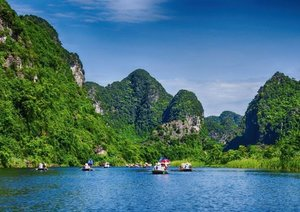 Adventure North Vietnam (Poster Book DIN A4 Landscape)