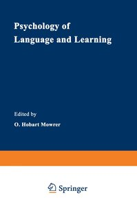 Psychology of Language and Learning