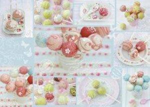 Zuckersüße Cakepops. Puzzle 1000 Teile