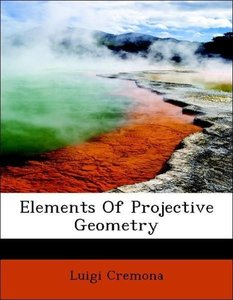 Elements Of Projective Geometry
