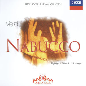 Nabucco (Highlights). Klassik-CD