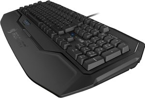 ROCCAT Ryos MK, MX Black, Gaming Tastatur (deutsches Tastatur La