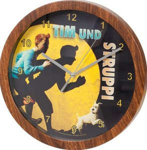 United Labels 0116633 - Tim & Struppi: Wanduhr