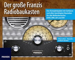 Der große Franzis Radiobaukasten: Das Komplettpaket mit Gehäuse