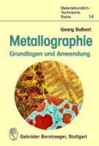 Metallographie - Grundlagen und Anwendung