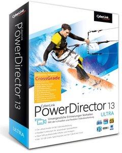 Cyberlink PowerDirector 13 Ultra Crossgrade. Für Windows Vista/7