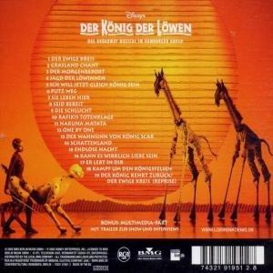 Der König der Löwen. Original Soundtrack
