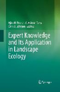 Expert Knowledge and Its Application in Landscape Ecology