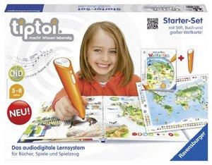 Ravensburger 00504 - Tiptoi Weltatlas Starter-Set