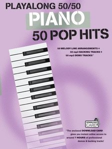 Playalong 50/50 Piano Pop Hits