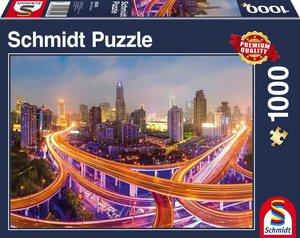 Lichter der Großstadt, 1.000 Teile Puzzle