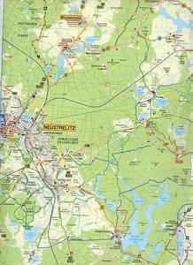 Feldberger Seen, Fürstenberg, Lychen und Umgebung Radwander- und