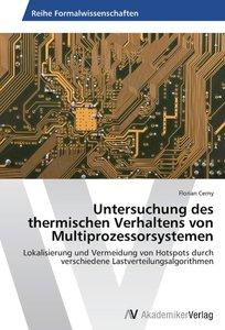 Untersuchung des thermischen Verhaltens von Multiprozessorsystem