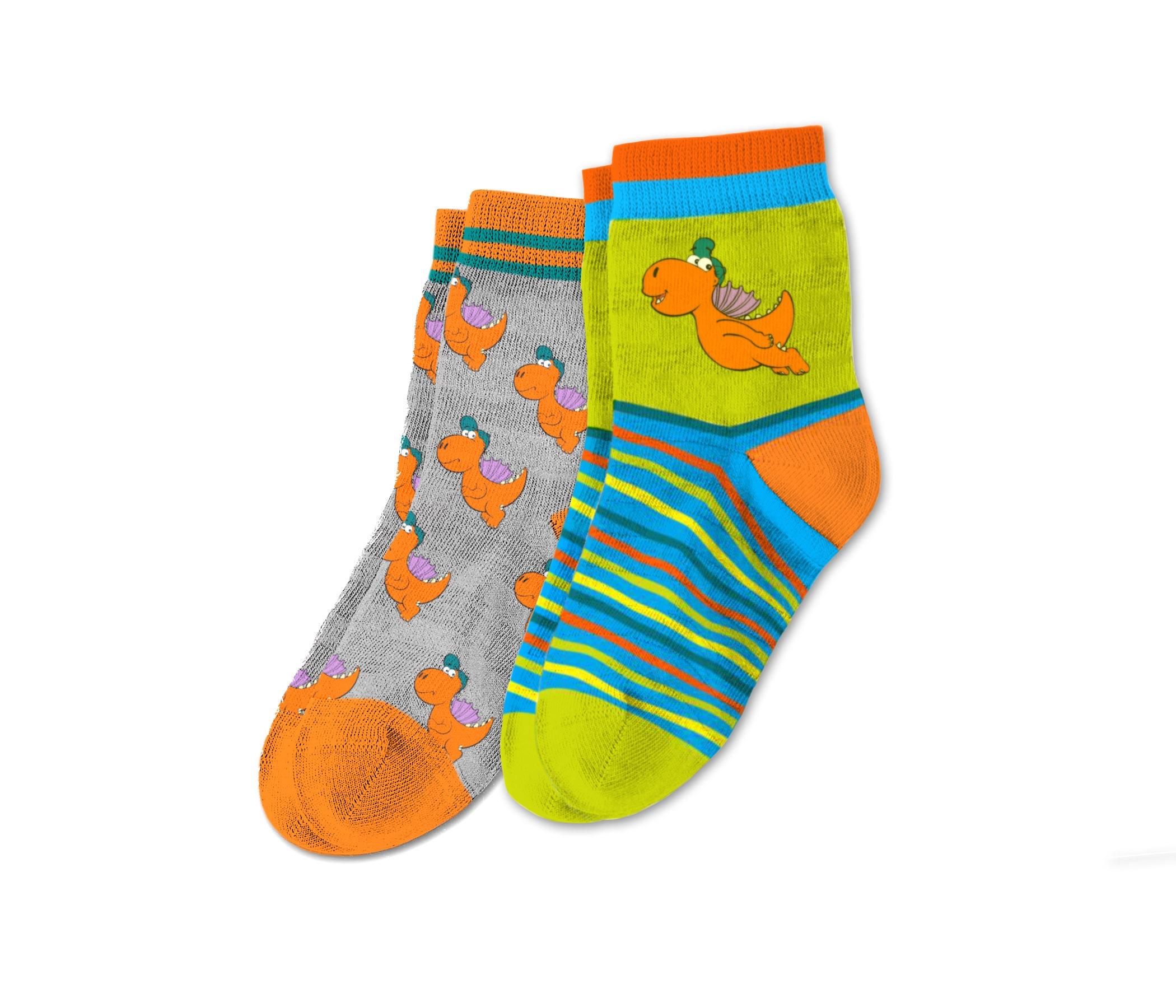 Der kleine Drache Kokosnuss - Socken - zum Schließen ins Bild klicken