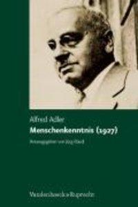 Studienausgabe 05. Menschenkenntnis (1927)