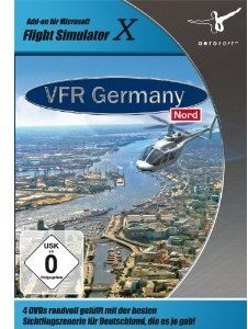 Flight Simulator X - VFR Germany 2: Nord