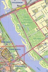 Warsaw (Poland) City Map 1 : 10 000