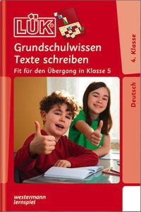LÜK Grundschulwissen Texte schreiben