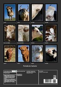 Portraits de Vacherie (Livre poster DIN A3 vertical)