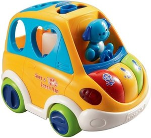 VTech Baby 80-070104 - 1,2,3 Sortierauto