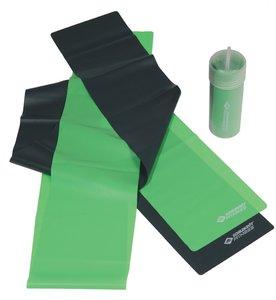 Schildkröt Fitness 960020 - Fitnessbänder Latex 2er Set, limegre