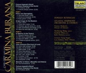 Runnicles, D: Carmina Burana