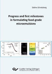 Progress and first milestones in formulating food-grade microemu