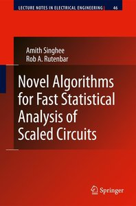 Novel Algorithms for Fast Statistical Analysis of Scaled Circuit