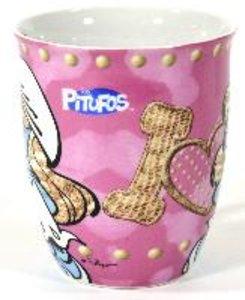 Schlümpfe - Tasse, 350ml (rosa)