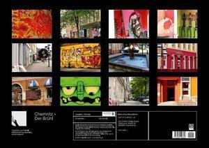 Chemnitz - Der Brühl (Posterbuch DIN A2 quer)