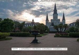 Summer in New Orleans (Wall Calendar 2015 DIN A3 Landscape)