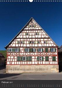 Strümpfelbach - Fachwerkhäuser (Wandkalender 2017 DIN A3 hoch)