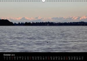 Up to the horizon / UK-Version (Wall Calendar 2015 DIN A3 Landsc