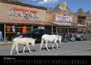 Route 66 in the Southwest (UK-Version) (Wall Calendar 2015 DIN A