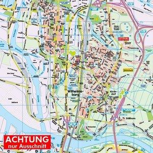 HARTMANN-PLAN Harburg, Wilhelmsburg und Finkenwerder mit Süderel