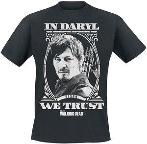 The Walking Dead - In Daryl We Thrust - T Shirt, Schwarz, Größe