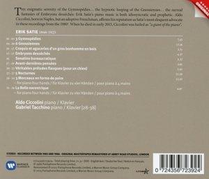 Werke Für Klavier (Gymnopedies+Gnossiennes+Noct.+)