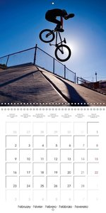BMX: Big air on a small bike (Wall Calendar 2015 300 × 300 mm Sq