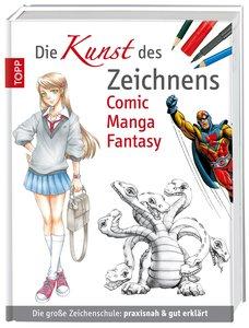 Die Kunst des Zeichnens Comic Manga Fantasy